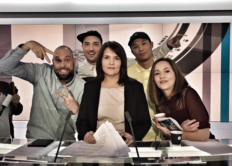 12:45 sur la RADIO TELEVISION SUISSE